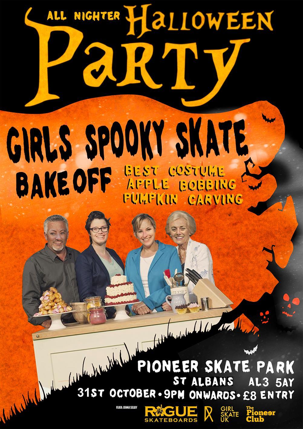Halloween jam poster