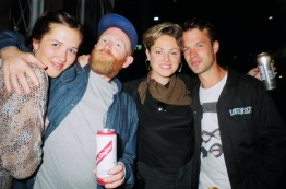 Tedi, Kev, Claire & Beany